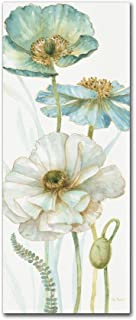 My Greenhouse Flowers VIII by Lisa Audit, 10x24-Inch Canvas Wall Art