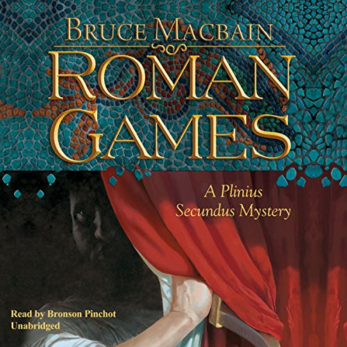 Roman Games audiobook cover art
