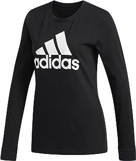 adidas Women's Basic Badge of Sport Long Sleeve Tee