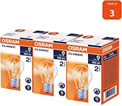 HALOGEN CLASSIC A | Energy Saver, Halogen lamps, classic bulb shape DIMMABLE (30w) Screw - Base E27, 405 lm -Warm White-2700k (Bundle- Pack of 3)