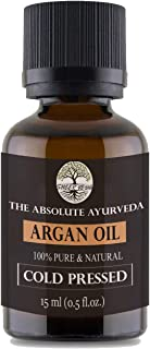 Sheer Veda Moroccan Argan Oil For Hair, Skin and Body. Organic and Cold Pressed Argan Oil 15ml