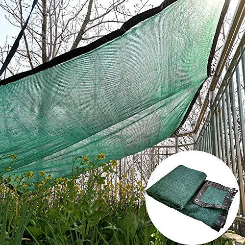 Shade Net YXLZ donkergroen 10 Ft. 85% schaduw, zonnenet, rechthoekige of vierkante kaars, ideaal voor achtertuin, binnenplaats, hond, schaduw in de kas