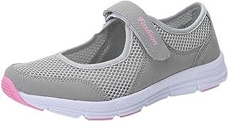 Logobeing Zapatosde Mujer Zapatillas Respirable Mocasines Deportes Casual Sandalias Antideslizantes Fitness Correr Calzado...