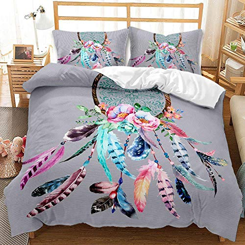 Bedclothes-Blanket Juego de Cama Matrimonio,Conjunto de colchas de impresión Digital 3D de Tres Piezas Malla de sueño de Captura de Tres Piezas-6_260 * 230cm