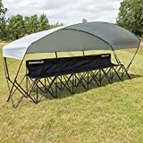 QUICKPLAY 6 Seat Camping Chair with Shelter | Perfect for Family Camping and Sports Team