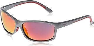 Esprit Men's Sunglasses Sport ET19645-505 Silver/orange mirror - size 56-17-125 mm