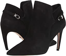 Black Suede Leather