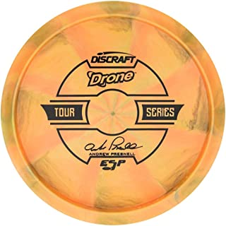 Discraft Limited Edition 2019 Tour Series Andrew Presnell Understamp Swirl ESP Drone Midrange Golf Disc [Colors May Vary]