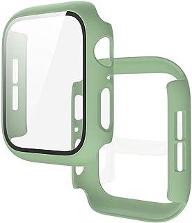 ZAALFC Caja Clara con la Cubierta Protector de Pantalla de Vidrio para la Serie de Relojes de Apple 5 4 3 2 1 para iWatch ...