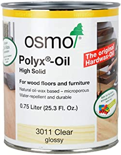 Osmo Polyx-Oil - 3011 Clear Gloss - 0.75 Liter