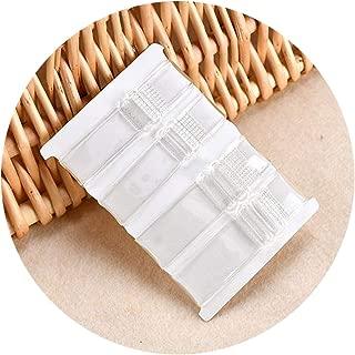 XIMI VOGUE Women's Adjustable Transparent Silicone Bra Straps (Free Size) (Set of 2)