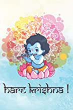 Hare Krishna: Blank Lined Krsna Lover Notebook Journal Diary Daily Practice Bhakti Yoga