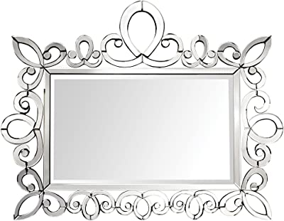 ELK Miramar Fireplace Mirror, Clear