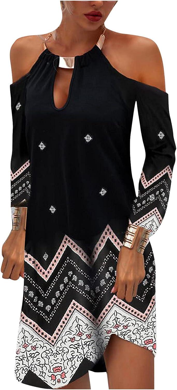 Eoailr Sleeveless Dress for New mail order Women Sundre Halter Mini Limited price sale Neck