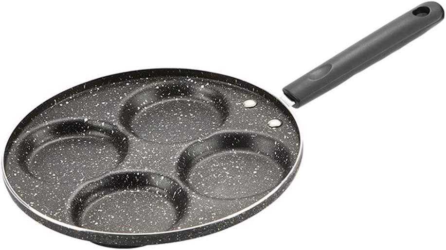 kaaka Frying Pan 4 Hole Hand specialty shop Non-stick Grill Omelette
