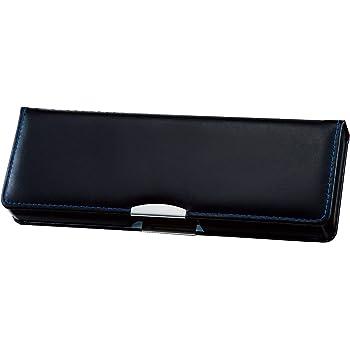 クツワ クラリーノ 筆箱 はねカル 筆入れ 2ドア ブラック CA300BK