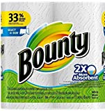 Product Image of the Bounty Select-a-Size 2 x More Absorbent Paper Towels,11 x 5.9-Inches PLY SHEETS,White (PACK OF 2)
