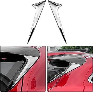 Tetto Estensione Lip Spoiler TettoPosteriore Del Tronco Di Avvio Ali Spoiler In Fibra Di Carbonio 3M Incolla Auto Spoiler Posteriore Fit For Tesla Model S 2015-2017 Alettone Posteriore Spoiler