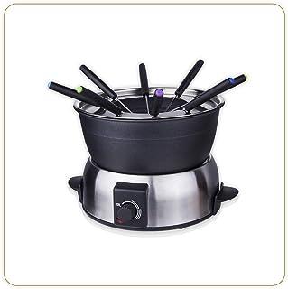 LITTLE BALANCE 8386 Fondue Elegance 8 - Appareil à fondue 8 personnes - Caquelon anti-adhésif 1,8 litres - Puissance 800 W...