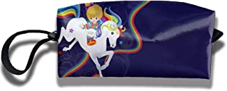 Coin Pouch Rainbow Brite Pen Holder Clutch Wristlet Wallets Purse Portable Storage Case Cosmetic Bags Zipper