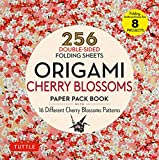 Origami Cherry Blossoms Paper Pack Book: 256 Double-Sided Folding Sheets (Includes Instructions for 8 Projects)