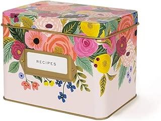 Rifle Paper Co Recipe Box Juliet Rose