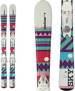 Elan Sky Kids Skis with EL 7.5 Bindings 2018 - 140cm