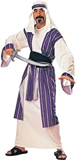 Rubie's Adult Arabian Desert Prince Costume White/Purple