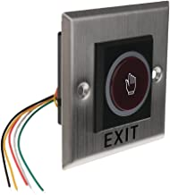 Homyl 12V DC Door Infrared No Touch EXIT Button Switch Sensor With LED Backlight #K2