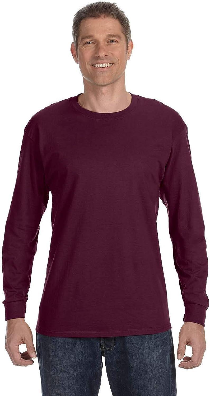 Jerzees 5.6 oz. 50/50 Heavyweight Blend Long-Sleeve T-Shirt (29L)