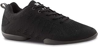 Anna Kern Hombres Zapatos de Baile/Dance Sneakers 4020 Bold - Negro - Suela de Sneaker