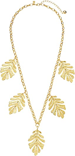 A New Leaf Statement Necklace
