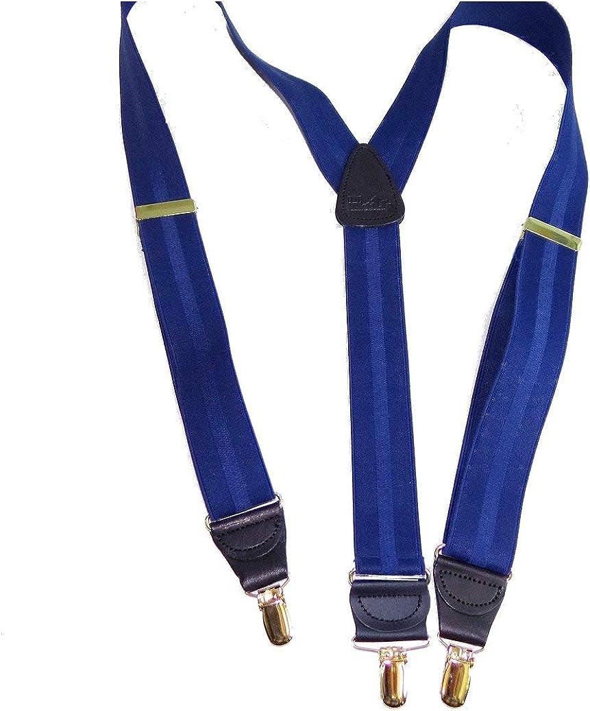 Hold-Ups Blue Stripe Jacquard 1 1/2