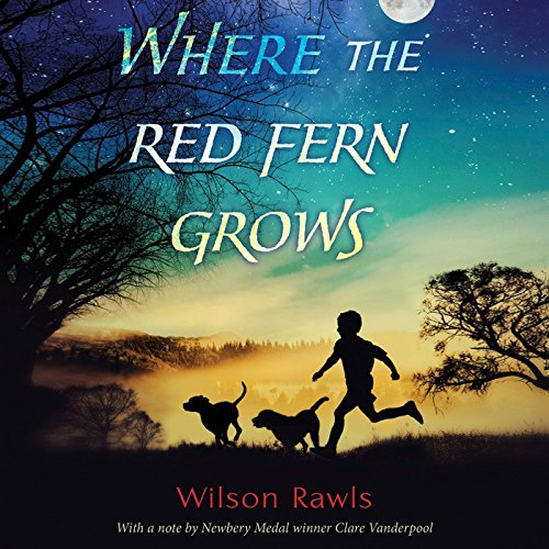 Where the Red Fern Grows  audiobook cover art