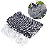 WINOMO Mantas Grandes para Sofá de algodón ligero toalla reversible