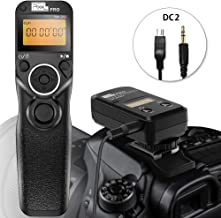 Wireless Remote Shutter for Nikon, Pixel TW-283 DC2 Wireless Shutter Release Cable Timer Remote Control for Nikon D7500 D3300 D5000 D5500 D7200