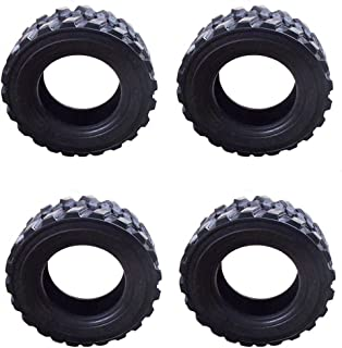 (4) 14 Ply Extra Heavy Duty Skid Steer Tires for Bobcat Gehl Case New Holland 12-16.5