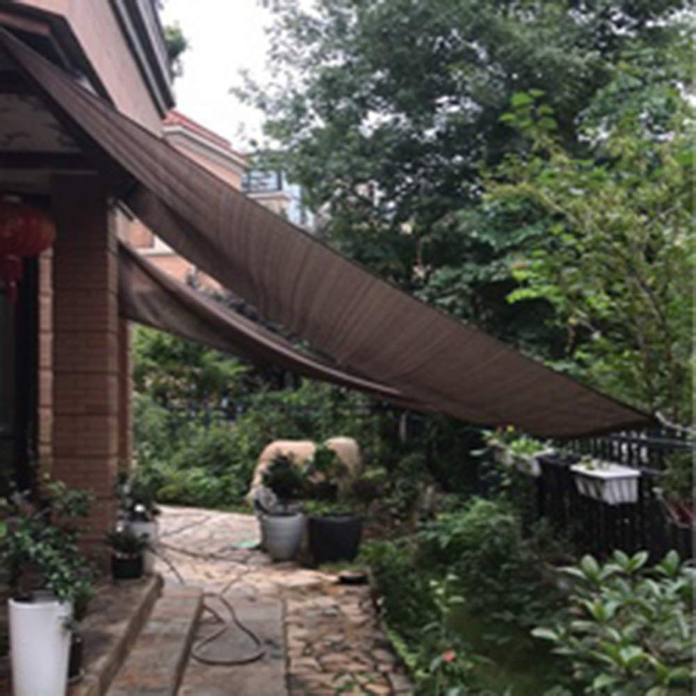 Hyzb Sombreando cifrado Engrosamiento de Aislamiento Protector Solar Planta de Malla de sombreo jardín de su casa con Malla de Tela Malla de sombreo cochera (Size : 3 * 4m): Amazon.es: Hogar