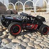 Poooc Elctrico remoto Monster Car Control, 30 kmh de alta velocidad RC Cars Escala 1:10 2.4Ghz Off Road Racing recargable de vehculos rpido Buggy juguete controlado de radio sobre orugas escalador