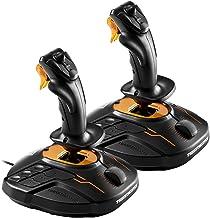 Thrustmaster T.16000M FCS Space Sim Duo, Due Joystick T.16000M FCS Combinati Tra Loro per Permettere ai Giocatori di Gioca...