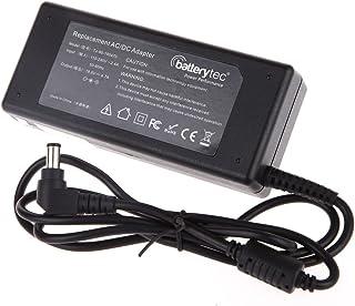 Batterytec® 90W 19.5V 4.74A Adaptador de cargador para Sony Vaio VGP-AC19V42 VGN-CS11S/W VGN-NR32M,Sony Vaio VGN Series VGN-CR21s VGN-CS215J VGN-FE660G VGN-FE770G VGN-Fz180E VGN-Fz240E VGN-NR160E VGN-NS140E VGN-SR190 f VGP-AC19V28 VGP-AC19V19 VGP-AC19V10 VGP-AC19V12 VGP-AC19V14 VGP-AC19V20 VGP-AC19V24 VGP-AC19V26,Con el cable de alimentación estándar europeo. . [19.5V 4.74A 6.5mm *4.3mm 12 meses de garantía]