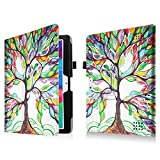 for Dragon Touch K10 / Lectrus Victbing Hoozo Wecool 10.1 inch Case Stand Cover (Love Tree)