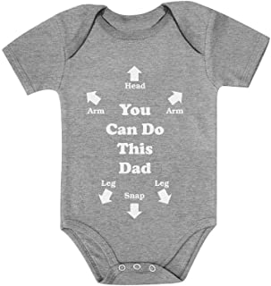 Tstars - You Can Do This Dad Funny for New Dads Cute Baby Bodysuit