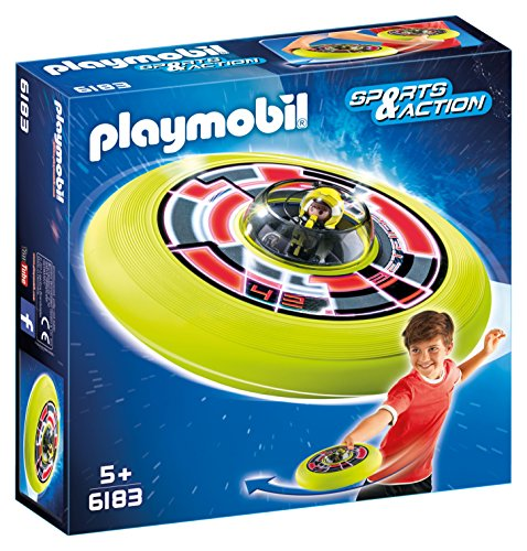 PLAYMOBIL - Disco Volador cósmico con Astronauta (61830)