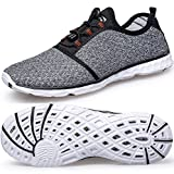 Cusselen Men Air Mesh Quick Drying Sport Water Shoes