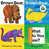 Brown Bear, Brown Bear, What Do You See? Slide and Find by Bill Martin Jr.(2010-08-03) - Priddy Books - 01/01/2010