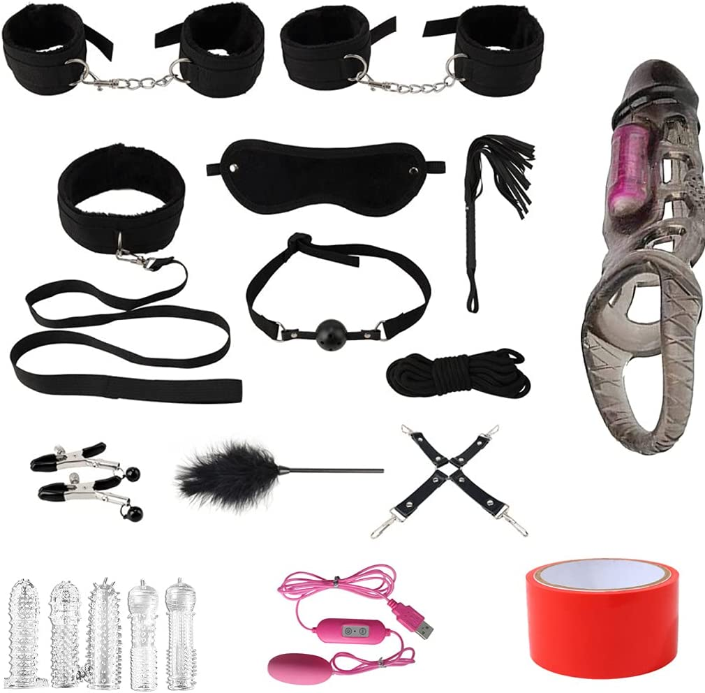 Outlet ☆ Free Shipping Bondage Easy-to-use for Couples Accessories Kit Restraint Handle Fl Whip