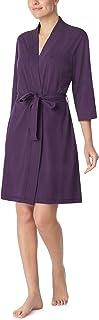 Nautica Women's 100% Cotton Jersey Robe