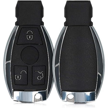 Kwmobile Autoschlüssel Gehäuse Kompatibel Mit Mercedes Elektronik