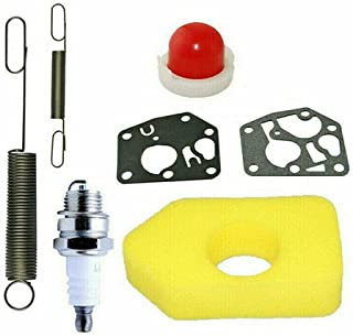 N.S Luchtfilter Katoen Set Outdoor Spares Grasmaaier Service Kit Geschikt voor de Classic en Sprint, Luchtfilter, Plug, Pr...